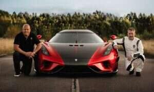 Koenigsegg pobił rekord 0-400-0 modelem Regera