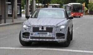 Nowy wygląd Jaguar F-Pace na przedpremierowych zdjęciach