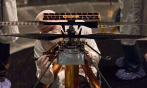 Łazik Mars 2020 doczekał się swojego powietrznego przyjaciela