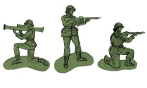 Pamiętacie zielonych żołnierzyków? Ci dostaną w pełni kobiecy pluton