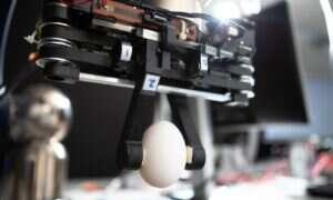 Robot Kinder jest tak delikatny, że radzi sobie nawet z jajkami