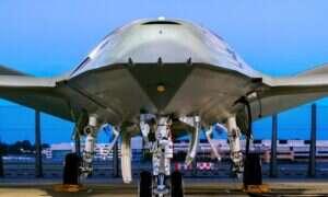 Autonomiczny dron MQ-25 Boeinga coraz bliżej roli powietrznej stacji