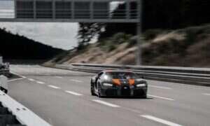 Bugatti Chiron z rekordem prędkości dla produkcyjnych samochodów