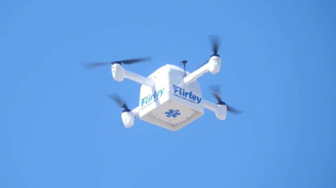 Flirtey chce podbić rynek dostaw dronami swoim Eagle