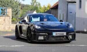 Prototyp Porsche 718 Cayman GT4 RS trafił (znów) na Nurburgring
