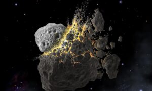Rozpad asteroidy mógł doprowadzić do wzmożonego rozwoju życia na Ziemi