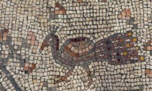Ta mozaika może przedstawiać cud opisany w Nowym Testamencie