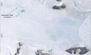 Po raz pierwszy udało się udokumentować zjawisko dotyczące lodowców w Antarktyce
