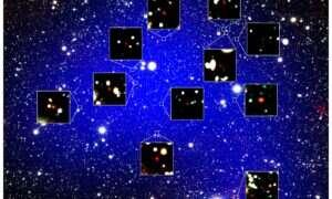 Ta protogromada gwiazd jest rekordowo stara