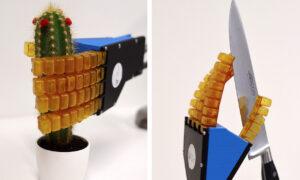 Te roboty korzystają z samonaprawiających się materiałów
