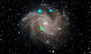 Astronomowie zastanawiają się nad pochodzeniem tajemniczego błysku