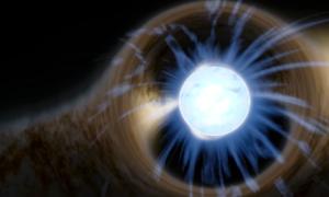 Jedna z najszybszych gwiazd w galaktyce emituje promieniowanie gamma