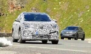 Elektryczny SUV Volkswagen ID 4 na 2020 rok już w testach