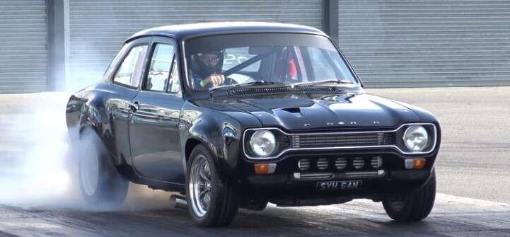 Ford Escort Mk1 zdecydowanie zyskał na silniku Cosworth