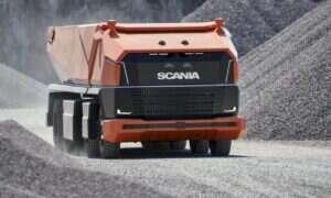 Koncept autonomicznej ciężarówki Scania AXL