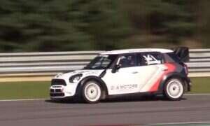 Mini WRC pokazał swoją mini-klasę na torze