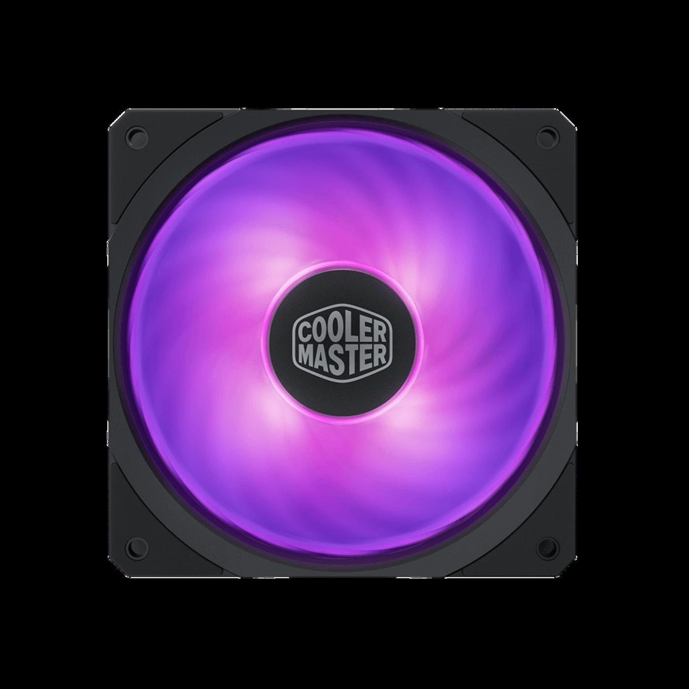 test Cooler Master MasterFan SF120R RGB, recenzja Cooler Master MasterFan SF120R RGB, review Cooler Master MasterFan SF120R RGB, opinia Cooler Master MasterFan SF120R RGB, czy warto Cooler Master MasterFan SF120R RGB, cena Cooler Master MasterFan SF120R RGB, wydajność Cooler Master MasterFan SF120R RGB, świecenie Cooler Master MasterFan SF120R RGB, LED Cooler Master MasterFan SF120R RGB, testy Cooler Master MasterFan SF120R RGB
