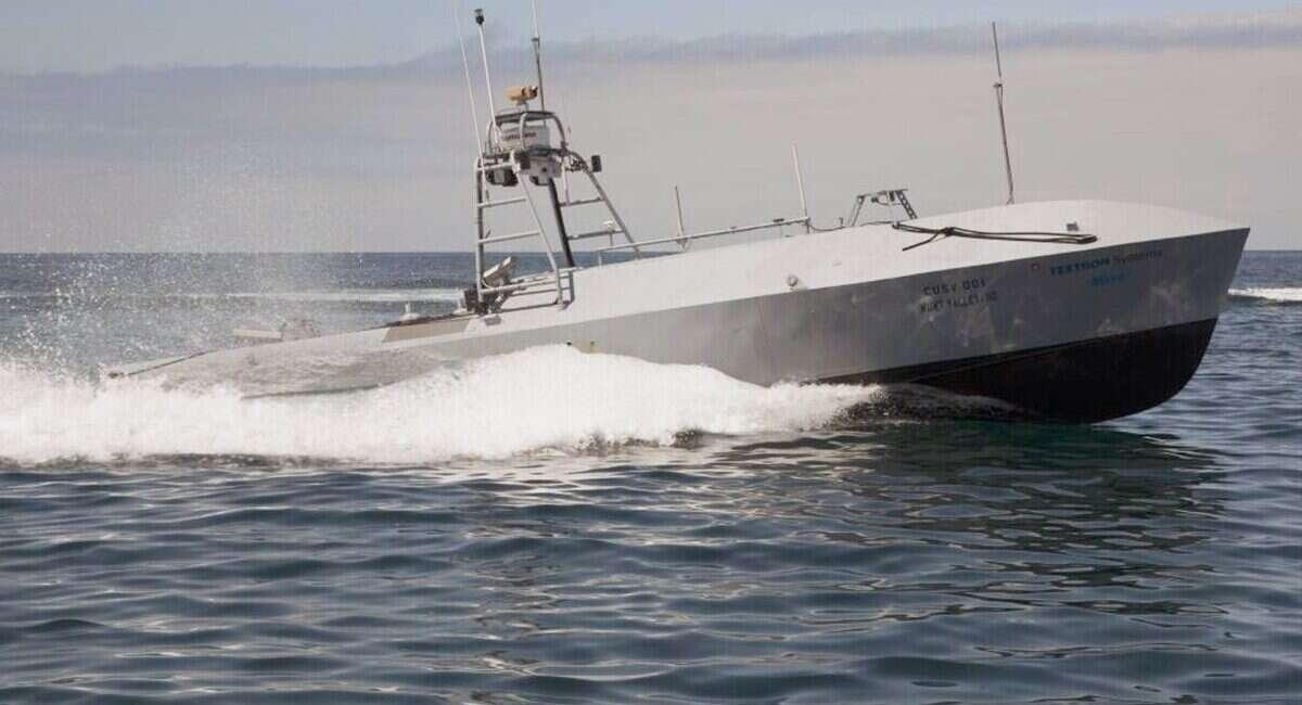 Autonomiczne okręty Marynarki Wojennej USA zażegnają problem min morskich
