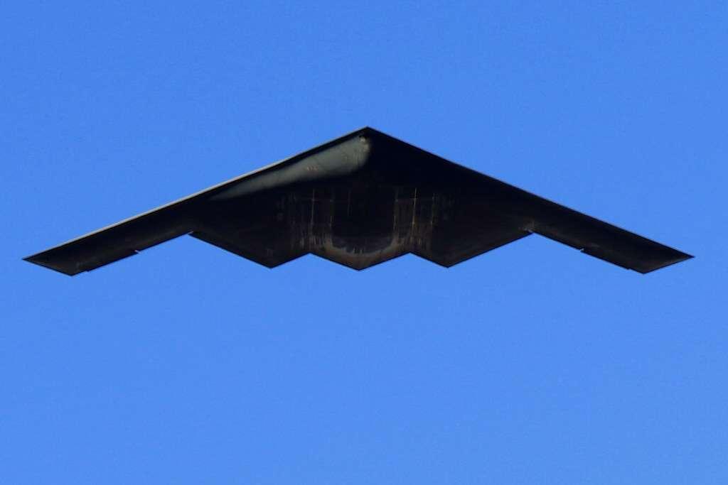 Sekretny dron bojowy USA przypomina bombowiec B-2
