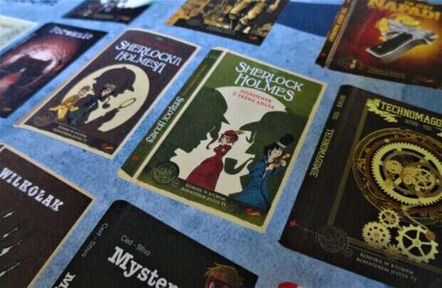 komiks paragrafowy, Sherlock Holmes, Fox Games,