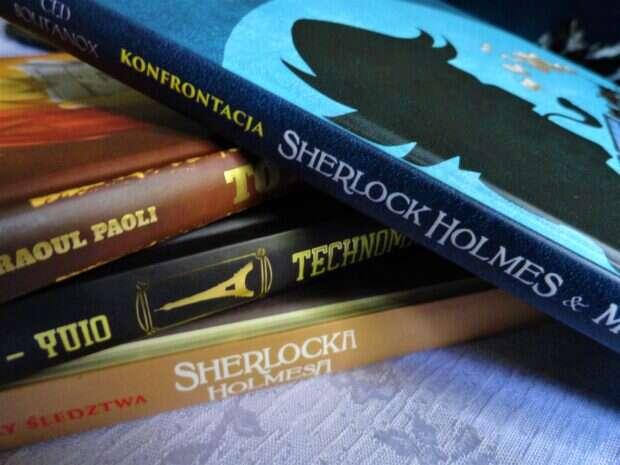 Sherlock Holmes & Moriarty: Konfrontacja, komiks paragrafowy, Sherlock Holmes, Fox Games, komiksy paragrafowe