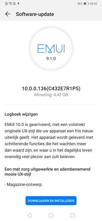 Huawei Mate 20 Pro, android 10 Huawei Mate 20 Pro, aktualizacja Huawei Mate 20 Pro, update Huawei Mate 20 Pro, system Huawei Mate 20 Pro