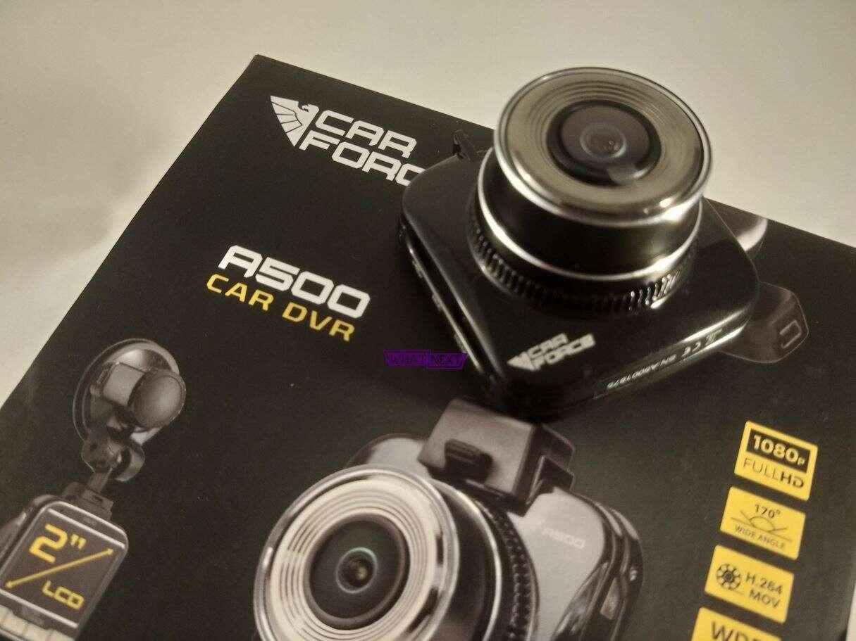 Test wideorejestratora CarForce A500