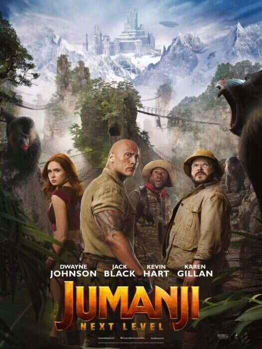 Nowy plakat Jumanji: Następny poziom