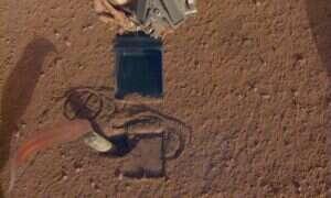 Naukowcy szukają sposoby na uwolnienie zablokowanego wiertła w marsjańskim łaziku