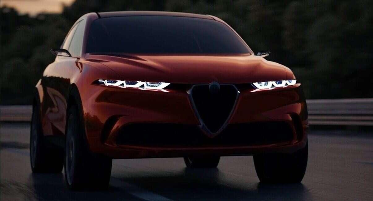 Zdjęcia Alfa Romeo Tonale 2020