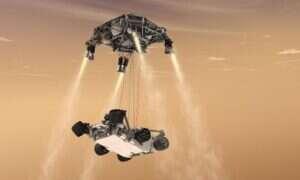 NASA testuje ostatni etap podróży łazika Mars 2020