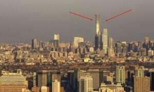 Rekordowy wieżowiec w Pekinie już otwarty