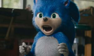 Stroje Sonica na Halloween są przerażające