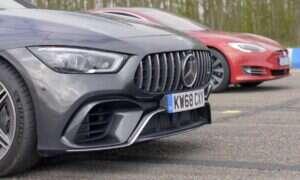 Kto zwycięży – Tesla Model S czy Mercedes-AMG GT 63?