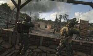 Udźwiękowienie Call of Duty: WWII powstało przy użyciu krzesła, kurtki, węża ogrodowego i śmieciarki