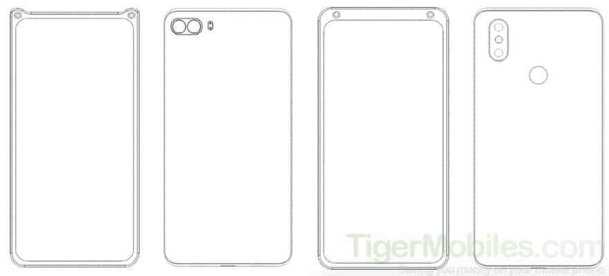 Xiaomi, przedni aparat Xiaomi, patent Xiaomi, patent przedni aparat, patent przedni aparat Xiaomi,