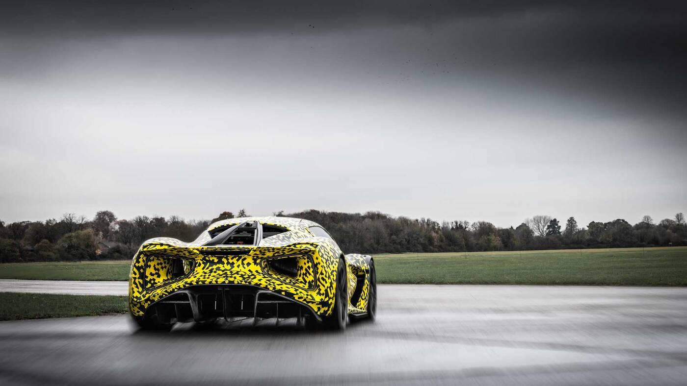 elektryczny hipersamochód Lotus Evija tor