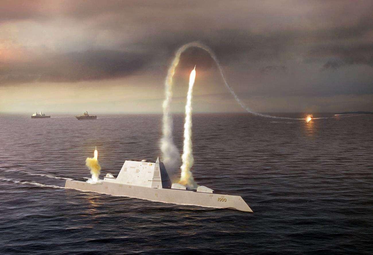 okręt zumwalt, ukończenie zumwalt, zumwalt służba, nowy niszczyciel USA, niszczyciel USA