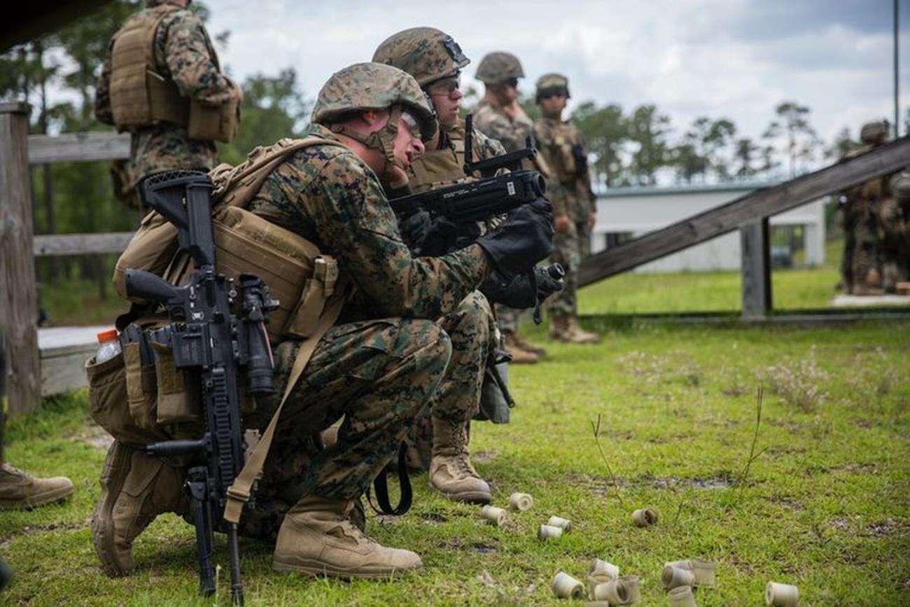 Nowy granatnik Marines, granatnik USA, M320, granatnik M320