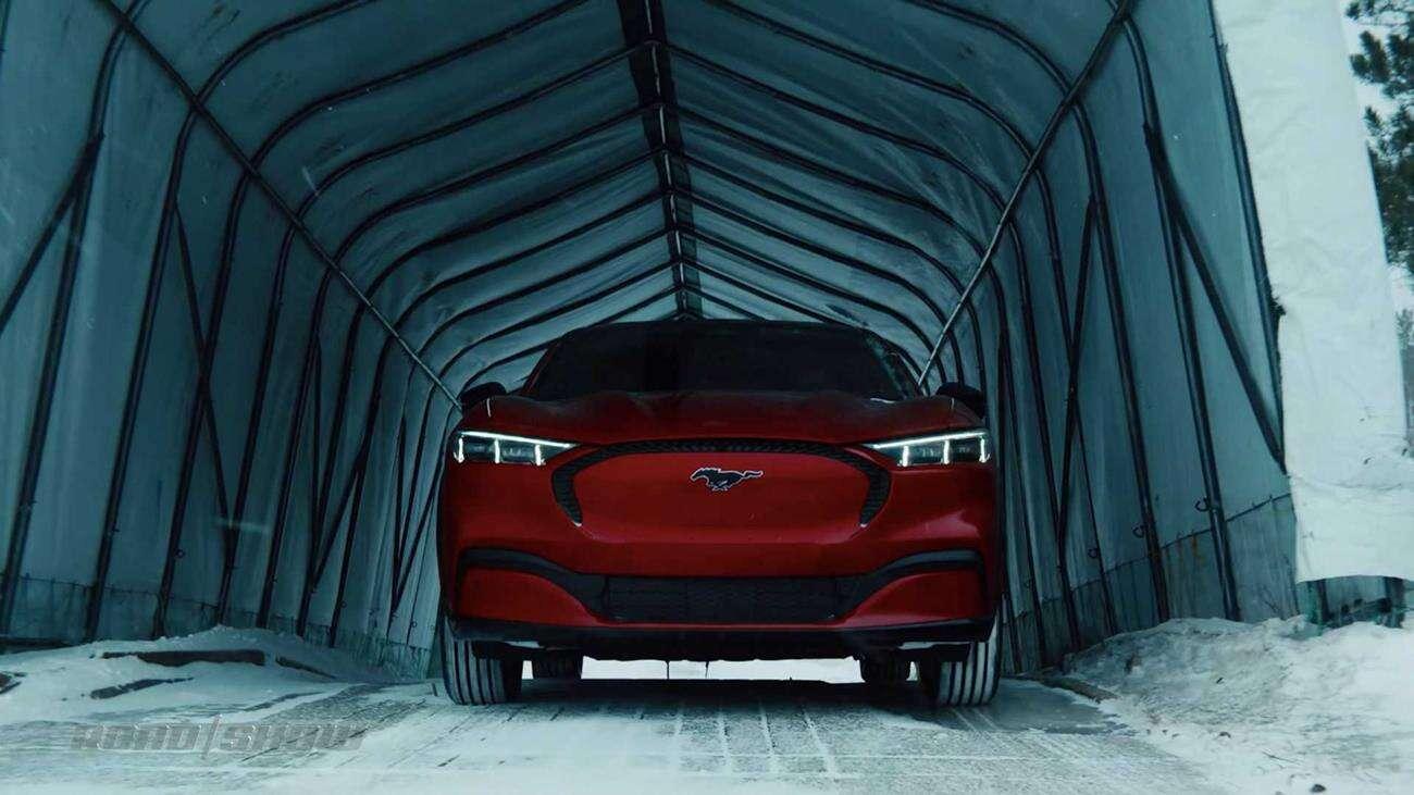 elektryczny Mustang, Mustang Mach-E, Mach-E, Ford Mustang