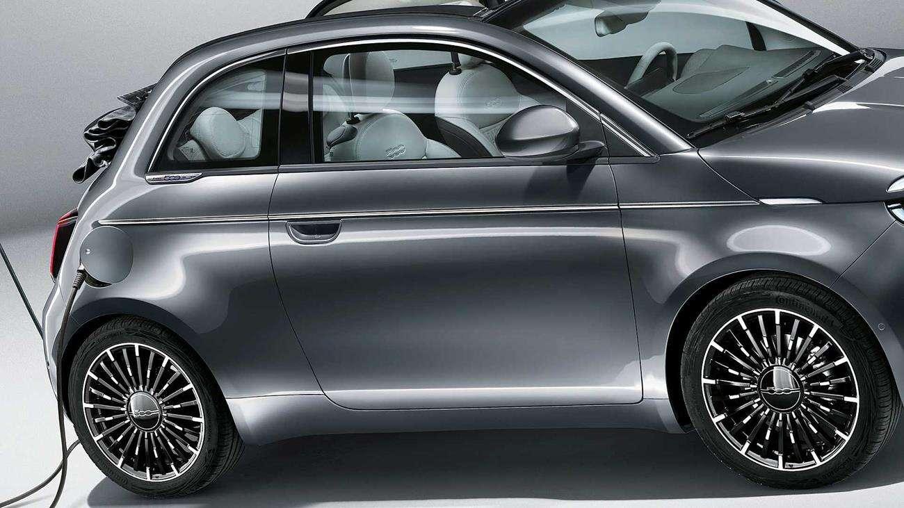 Fiat 500e, Fiat, 500e, elektryczny Fiat