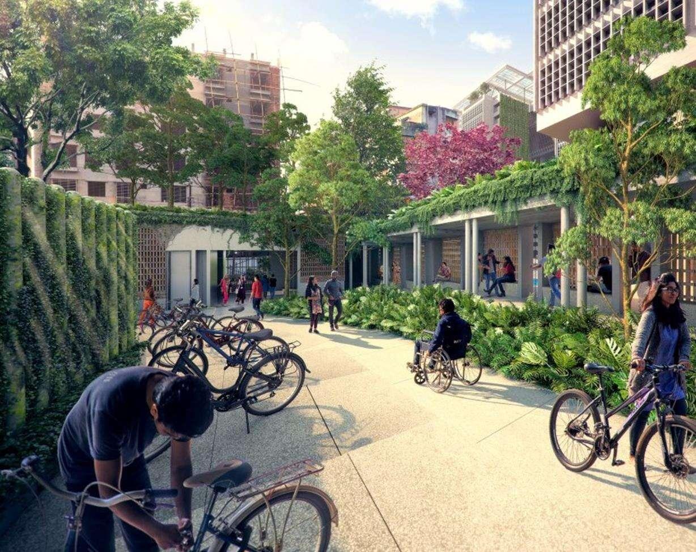 Z zanieczyszczonego bagna do nowoczesnego kampusu