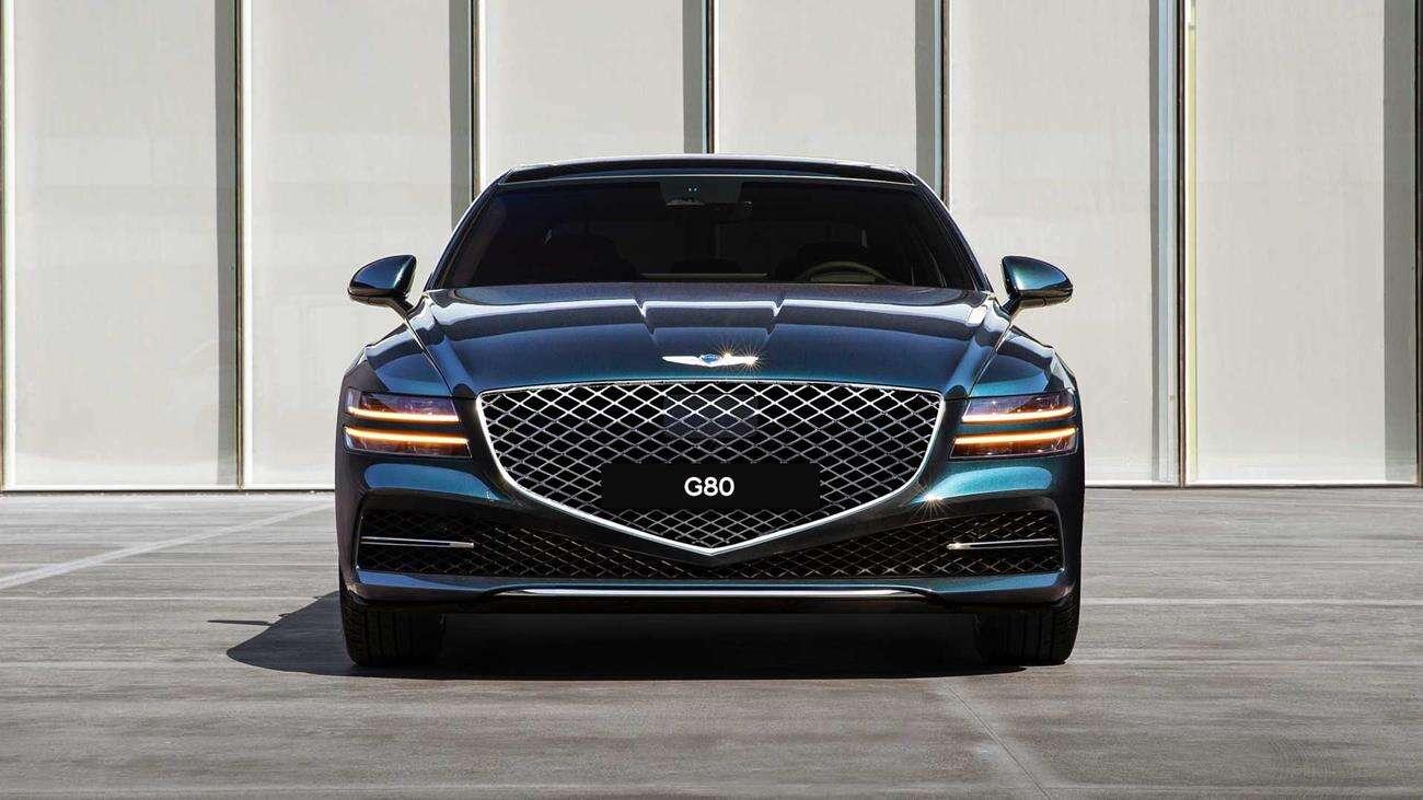 Genesis G80 2021, ceny Genesis G80 2021, opcje Genesis G80, nowy Genesis G80