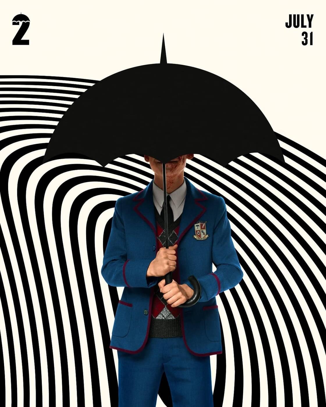 The umbrella Academy 2 plakaty, The Umbrella Academy sezon 2, The Umbrella Academy sezon 2 premiera