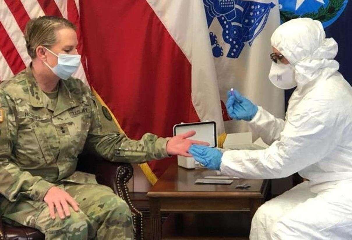 koronawirus wojsko, wojsko USA koronawirus, chorzy COVID19 wojsko, koronawirus w wojsku