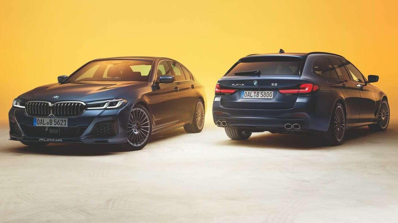 Alpina B5, Alpina D5 S, podkręcone BMW 5, BMW 5 od Alpina