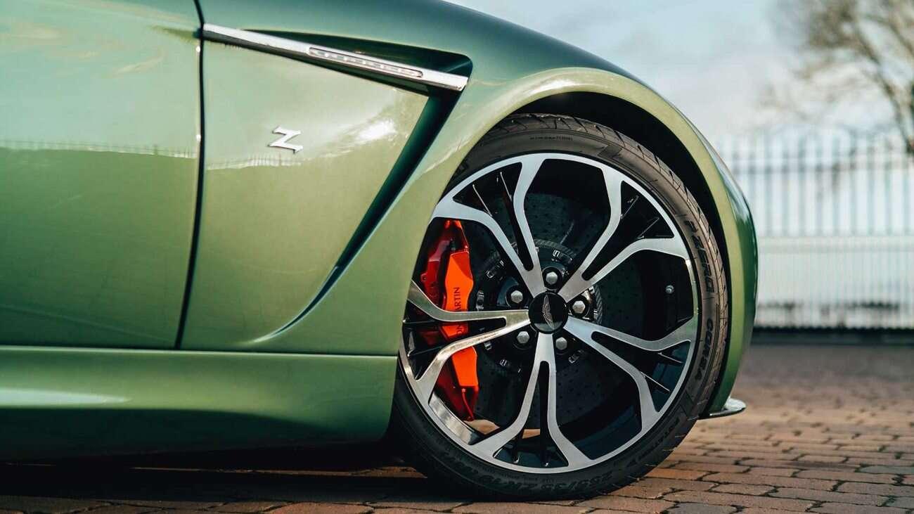 Aston Martin V12 Zagato, aluminiowy Aston Martin Zagato, jedyny Aston Martin, aluminiowy Aston Zagato V12