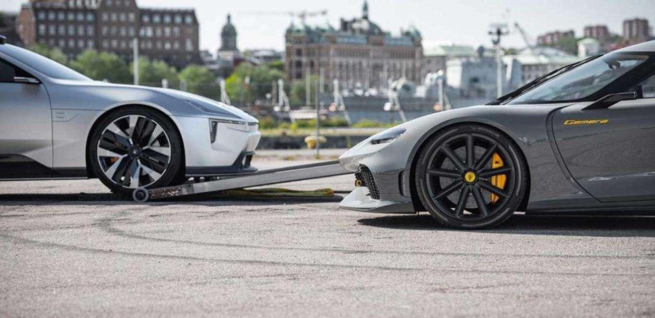Koenigsegg i Polestar, Koenigsegg, Polestar, współpraca producentów