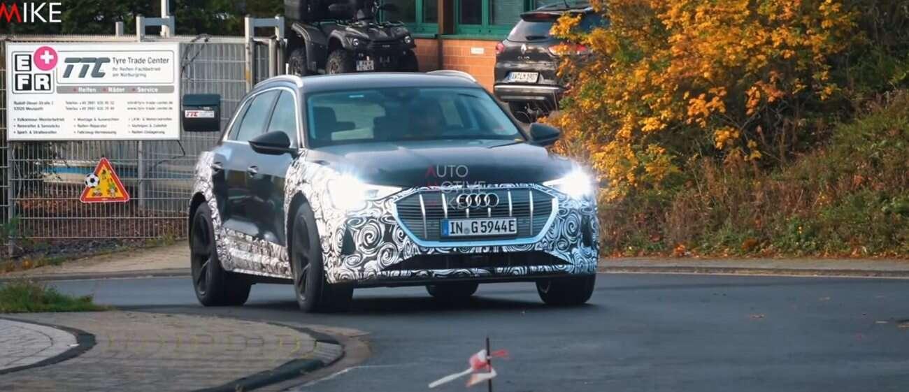 elektryczne Audi, Audi e-Tron S, e-Tron S, prototyp e-Tron S,