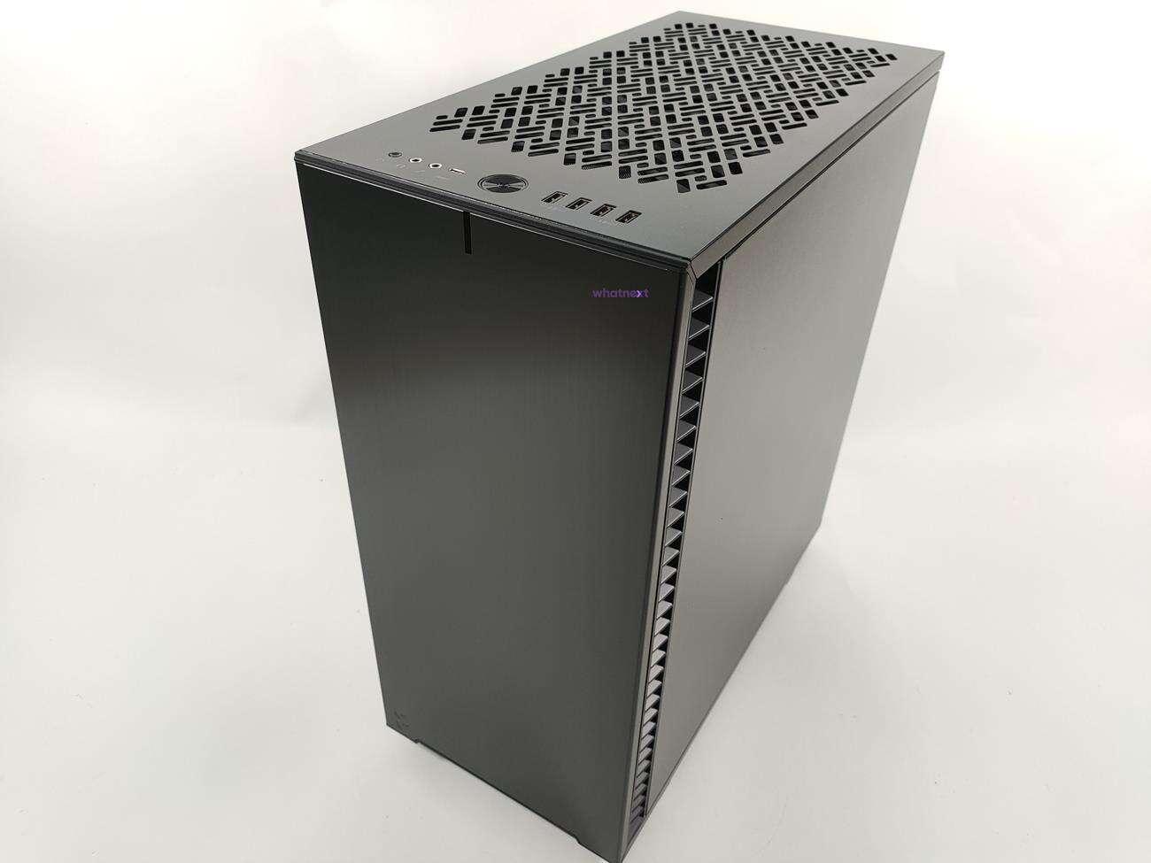 obudowa Fractal Design Define 7 Compact, AiO Celsius+ S28 Prisma, zasilacz ION+ 760P